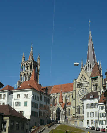 Restaurants in Lausanne