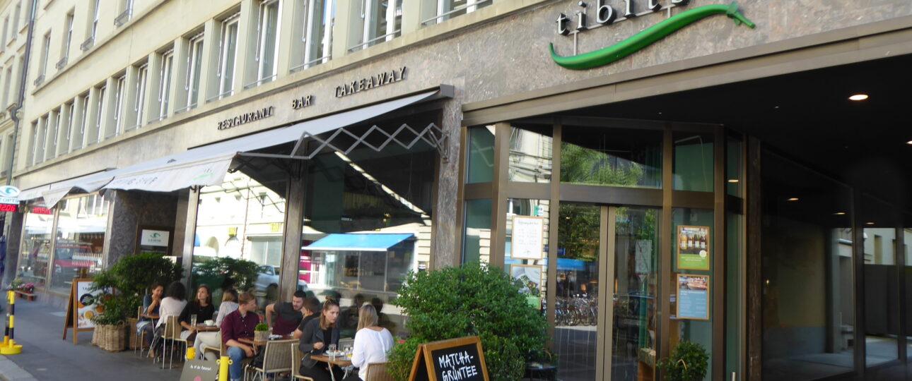 Restaurant Tibits, Bern, Gurtengasse