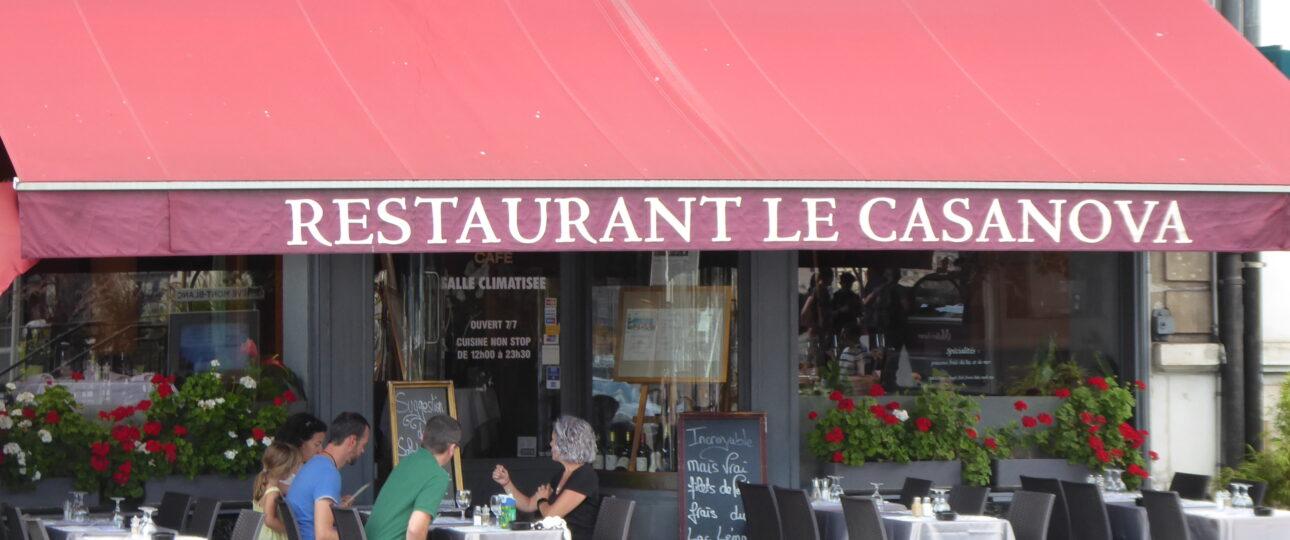 Restaurant Casanova, Geneva
