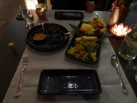 Restaurant Deltaverde Thai Cuisine, Deltapark Vitalresort, Gwatt bei Thun