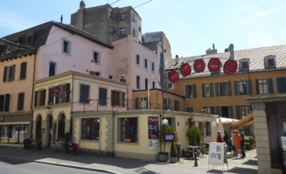 Restaurant des 3 Sifflets, Vevey